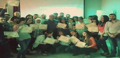 سوريا - دمشق: اختتام دورة الـ ICDL مع الإستشاري محمد عزام القاسم والمدربة ديانا معتوق