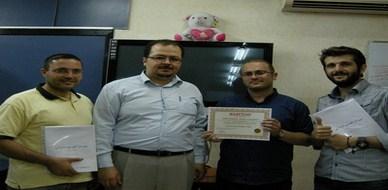 سوريا-دمشق:اختتام دورة مهارات التصميم الإعلاني مع المدرب أسامة المصري