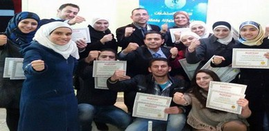 سوريا - دمشق: إختتام دورة مساعد ممارس في البرمجة اللغوية العصبية مع المدرب طارق السعدي