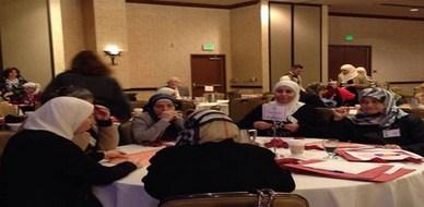 المؤتمر الثاني لمعلمي اللغة العربية، حفاظ على الهوية الأم بمشاركة فعالة من المدربة إيمان محو في الولايات المتحدة الأمريكية