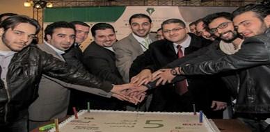 في رحاب جامعة دمشق، توزيع شهادات دورات التحليل المالي المتقدم والمحاسب الإداري المعتمد الأمريكية مع المدرب أول علاء صالحاني
