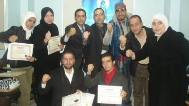 سوريا - دمشق: تخريج دفعتين من دبلوم البرمجة اللغوية العصبية بقيادة المدرب أول محمد بدر كوجان