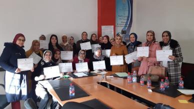 المغرب - وجدة: المدربة مليكة تبحيري تختتم دورة القيادة النسائية