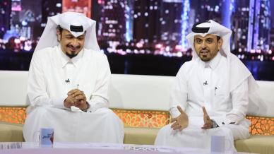 مشاركة المدرب أحمد المالكي في تقديم برنامج حياتنا على تلفزيون قطر