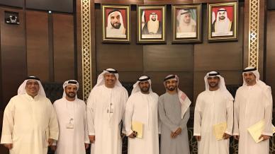 إيلاف ترين الإمارات وللمرة الثانية في دورة السعادة والإيجابية مع المدرب أول ماجد بن عفيف