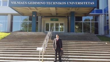 جامعة VGTU بليتوانيا تستضيف الدكتور علاء صالحاني في مشاركة مميزة