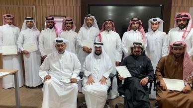 معهد الإدارة العامة في وزارة التنمية الإدارية يختتم دورة مهارات التخطيط مع المدرب أول حمد الشمري