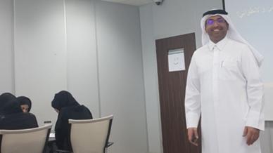 تألق جديد ومستمر للمدرب حمد ساكت الشمري في دورة فوائد مهاراة التواصل مع الآخرين