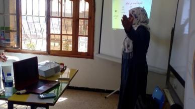 عودة تدريبية ميمونة للمدربة عائشة لزنك في دورة دبلوم البرمجة اللغوية العصبية