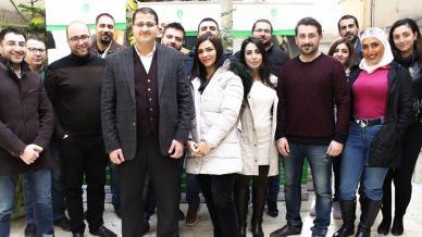 الدبلوم المتقدم في التحليل المالي لنخبة من مدراء وموظفي المصارف السورية مع الدكتور علاء صالحاني
