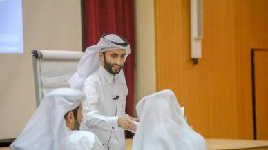 اختتام ورشة تحليل المشكلات وإدارة الأزمات في مركز القيادة الطلابية في جامعة قطر