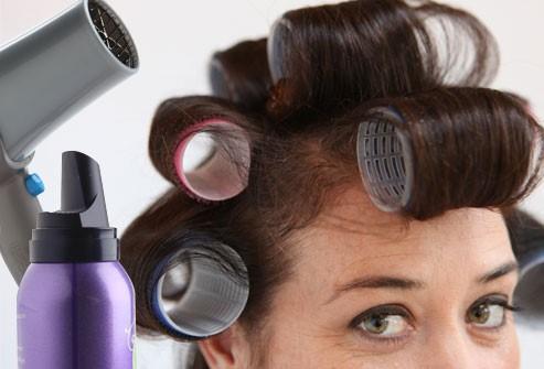 أنماط تصفيف الشعر ناقص الكثافة