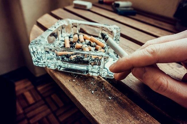 مضار التدخين - تساقط الشعر