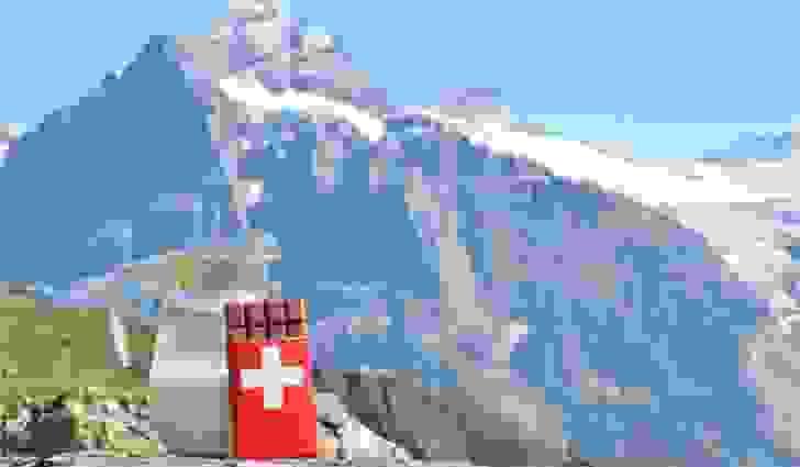 شوكولا الحليب ابتُكرَتْ في سويسرا