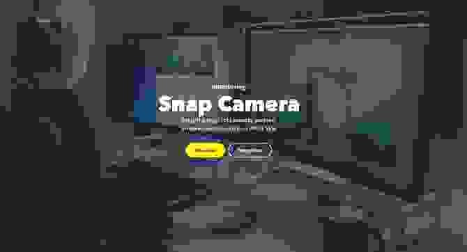 كاميرا سناب (Snap Camera)