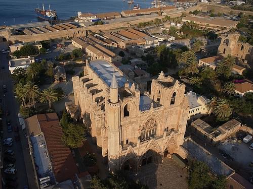 مسجد لالا مصطفى باشا - شمال قبرص