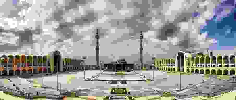 مسجد مصلى أو مسجد مصلى الكبير في طهران عاصمة إيران