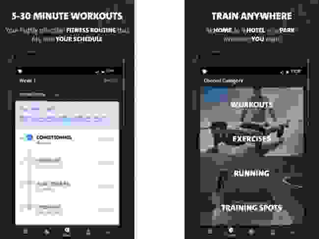 تطبيق (Freeletics)