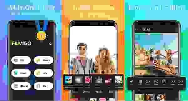 تطبيق محرر الفيديو (Filmigo Video Maker)