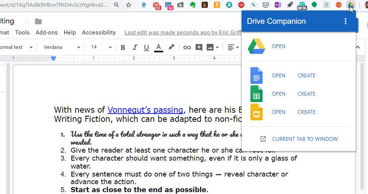 استخدام الإضافة Companion لفتح نوافذ سطح مكتب ويندوز