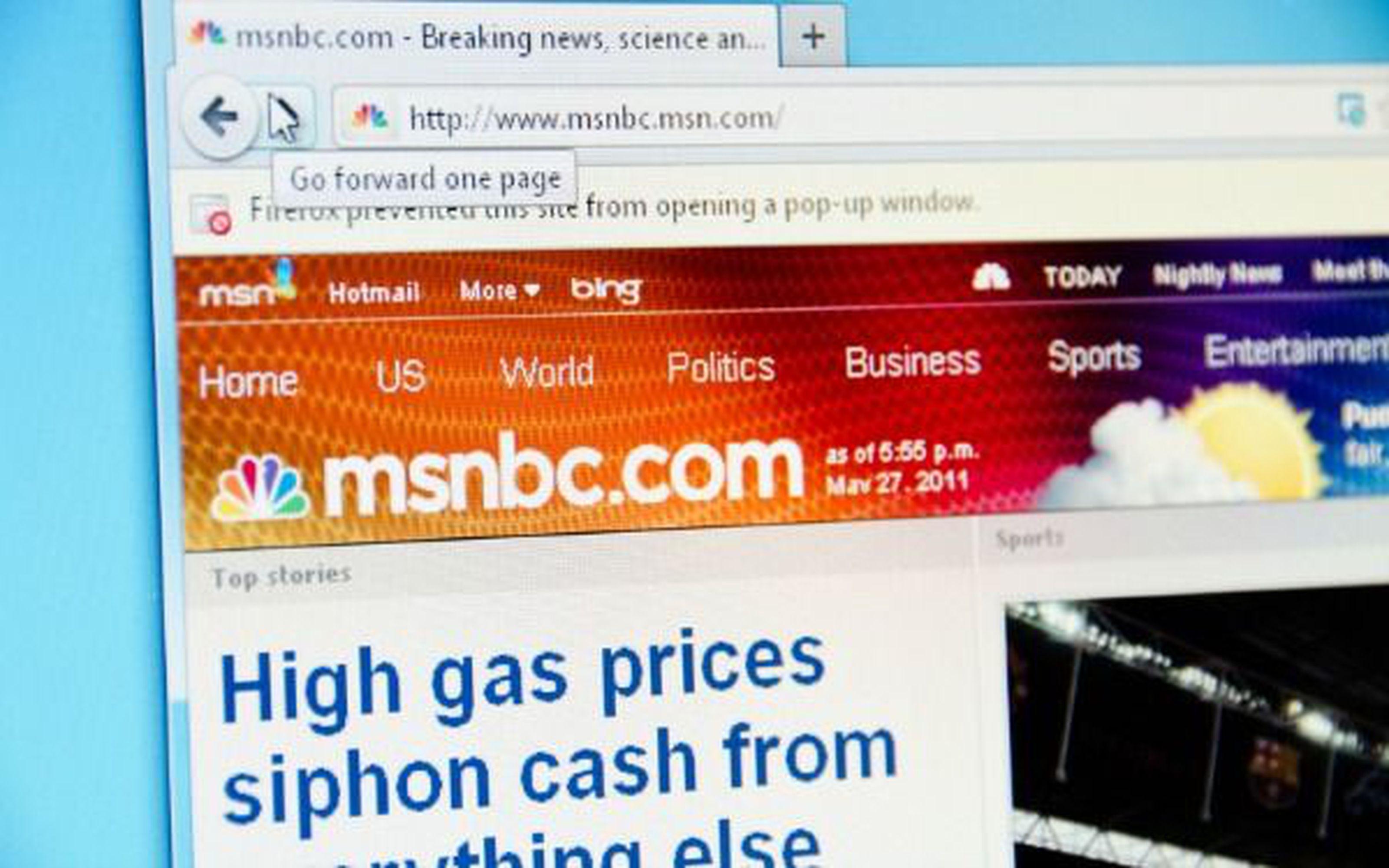 Microsoft + NBC = MSNBC