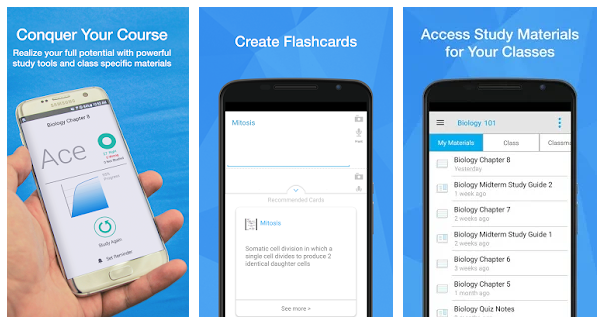 تطبيق StudyBlue Flashcards & Quizzes