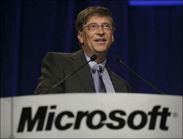 بيل جيتس مؤسس شركة مايكروسوفت