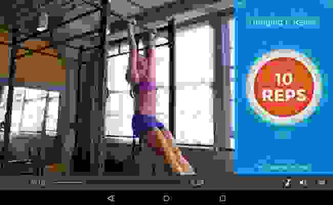 تطبيق (Workout Trainer)