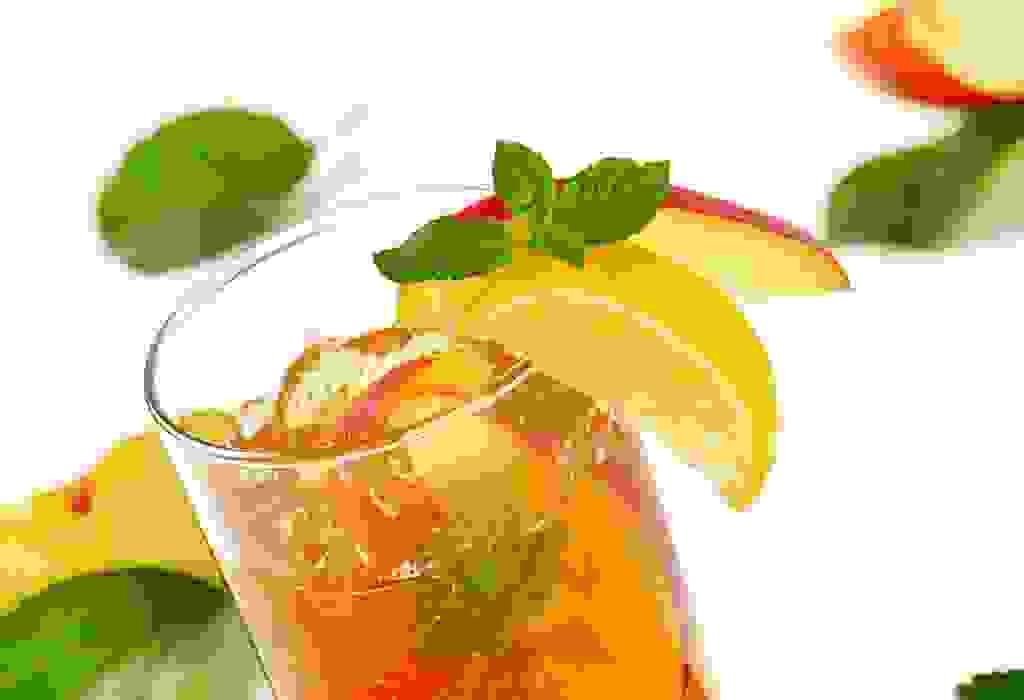 عصير الليمون والتفاح