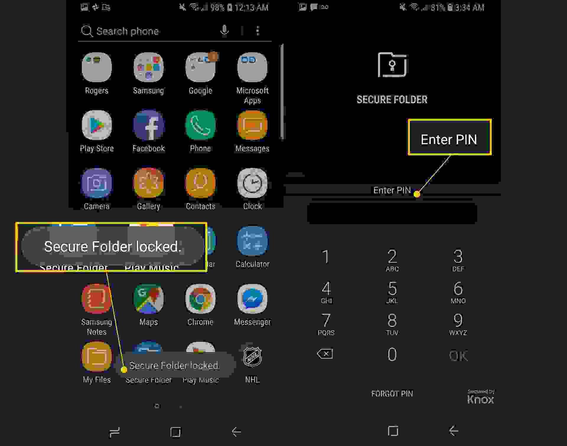 قفل التطبيقات على أندرويد باستخدام تقنية