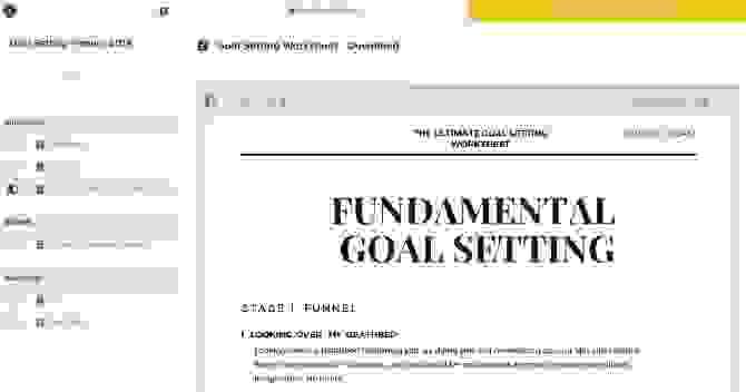Purpose Goals (تطبيق ويب)