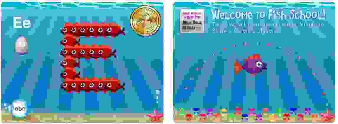 تطبيق Fish School HD