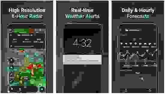 Storm Radar: Hurricane Tracker, Live Maps & Alerts