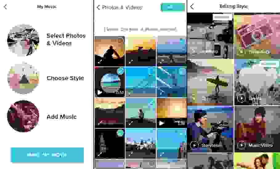 تطبيق محرر الفيديو (Magisto Video Editor & Maker)
