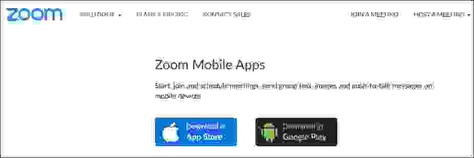 الحصول على برنامج زوم (Zoom)