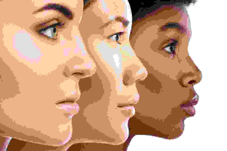 تحديد نوع البشرة