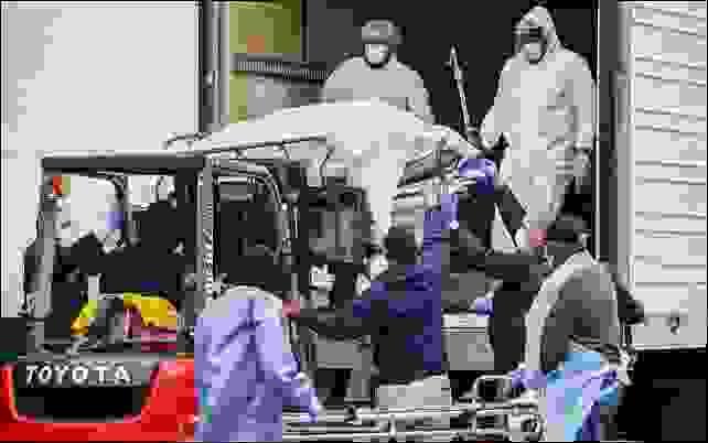 المشارح المتنقلة في شاحناتٍ مبرَّدة وهي تجوب شوارع نيويورك