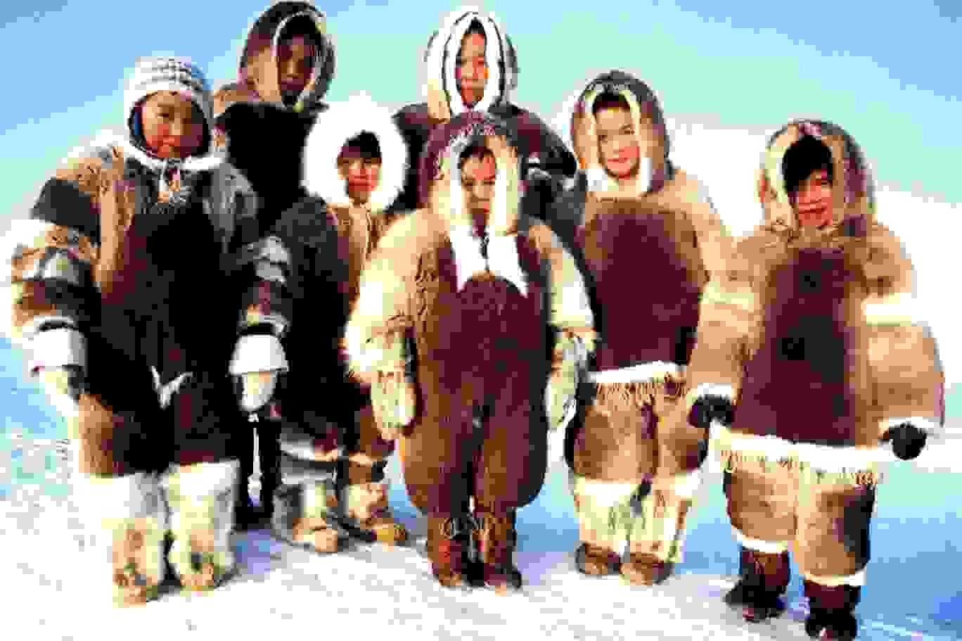 ملابس الاسكيمو