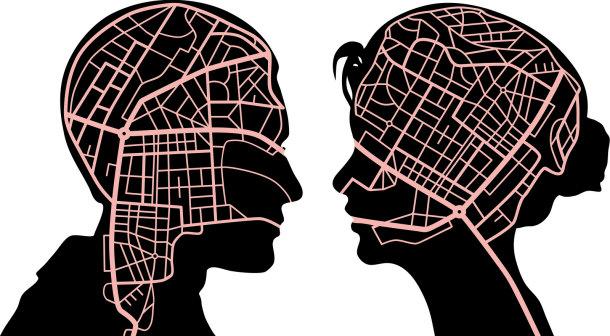 خريطتا دماغ